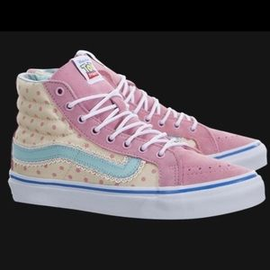 VANS Toy Story BO PEEP Limited Edition Sk8-Hi Sneakers Shoes Size W 8.5 EUC